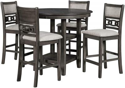 Image for Gia Counter Height Set - Gray