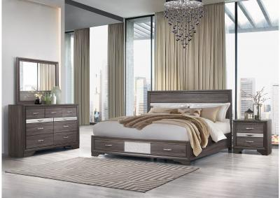 Image for Seville Queen Bedroom Set W/ Dresser, Mirror, Chest and Nightstand
