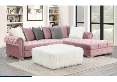 Image for Pink Sectional