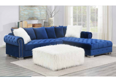 Image for Dark Blue Sectional