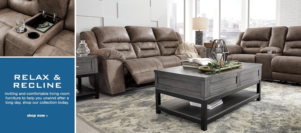 Relax and Recline - Shop Living Room