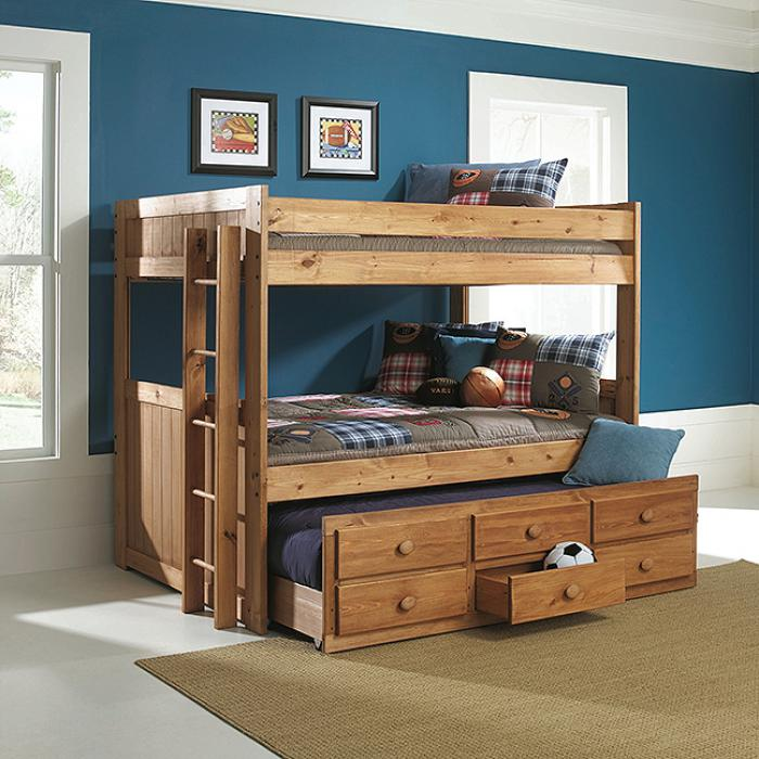 Full/Full Bunkbed w/Trundle,AWF