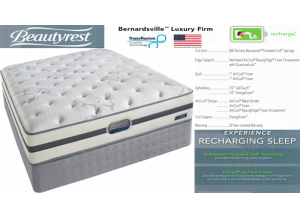 Image for Simmons Beauty Rest Recharge Bernardsville Firm Hybrid Twin Mattress & Boxspring Set