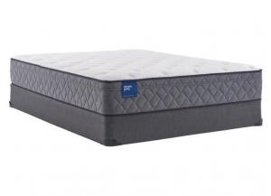 Image for Sealy Scallop Pearl Plush Eurotop Twin Mattress