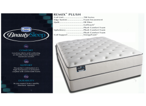 Image for Simmons Beauty Sleep Cane Palm Remix Plush Hybrid Twin Mattress & Boxspring Set