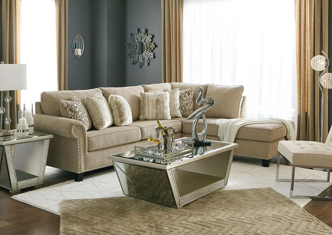 Ashley 40401 Dovemont 2 Piece Sectional,InStore ONLY