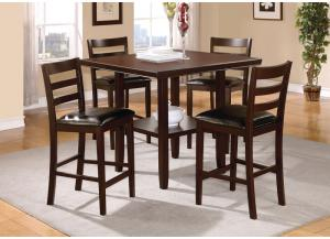 Image for 5 Piece Counter Height Dining Set