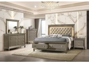 Image for Lifestyle 8305 Champagne Nightstand