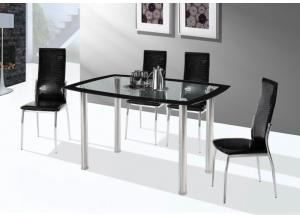 Image for 5 Piece Dining Set w/ Glass Top