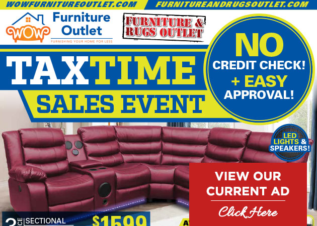Tax Time Sales Event