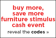 Furniture Stimulus Cash Event