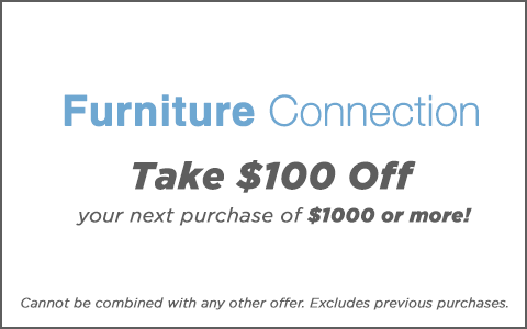 $100 Off your next instore purchase of $1000 or more.