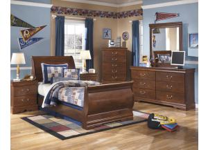 Image for Twin Bed + Chest + Nightstand + Dresser/Mirror
