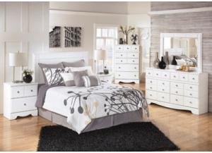 Image for Weeki Complete Bedroom Set+Double Pillow Top Mattress