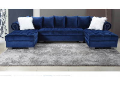 Image for 3 Pcs Sectional Velvet