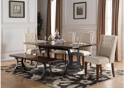 Image for Holland House Table with Chairs and Bench