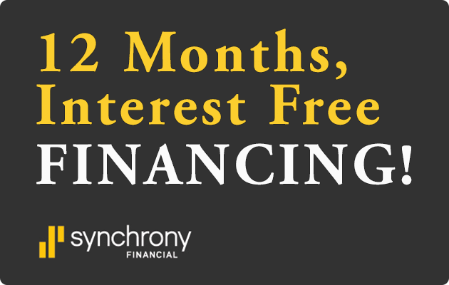 Synchrony Interest Free Financing at Furniture Gallery