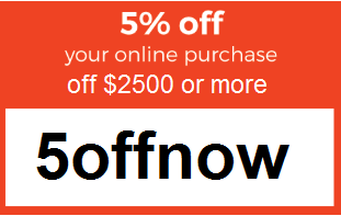 5% Off Your Online Order Over $5000
