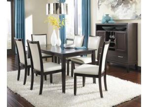 Image for Trishelle Table & 4 Chairs