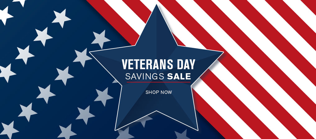 Veterans Day Savings Sale