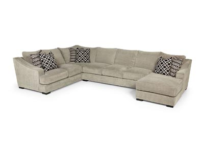Domain Dove 3 Piece Sectional