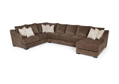 Lux Iron 3 Piece Sectional