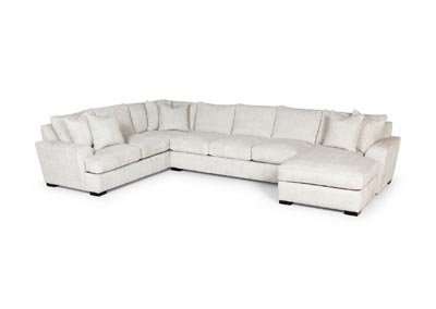 Image for Zaftig Parchment 3 Piece Sectional