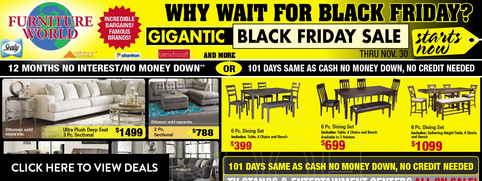 Current Ad - Black Friday Savings