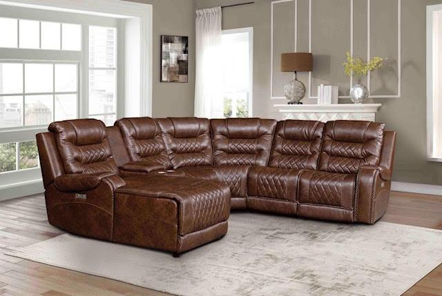Brown Reclining Sectional,Harlem In-Store
