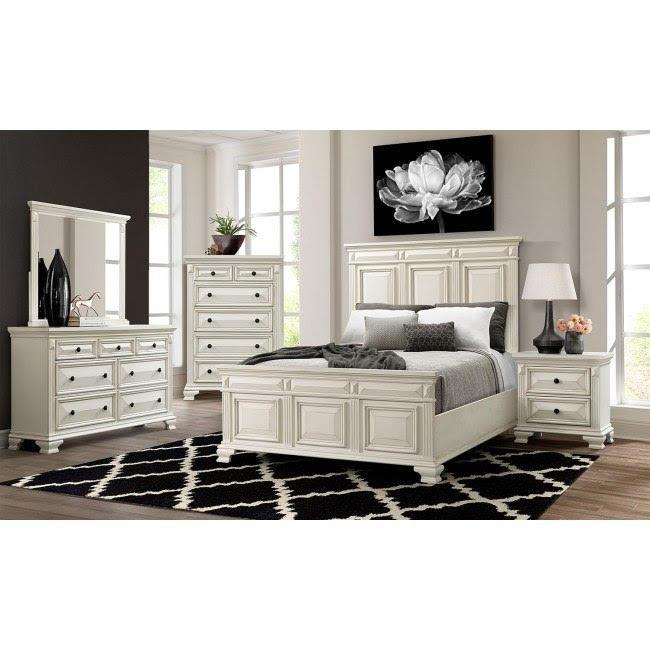 CY700 Queen Bed, Dresser, Mirror, Chest And Night Stand,Harlem In-Store