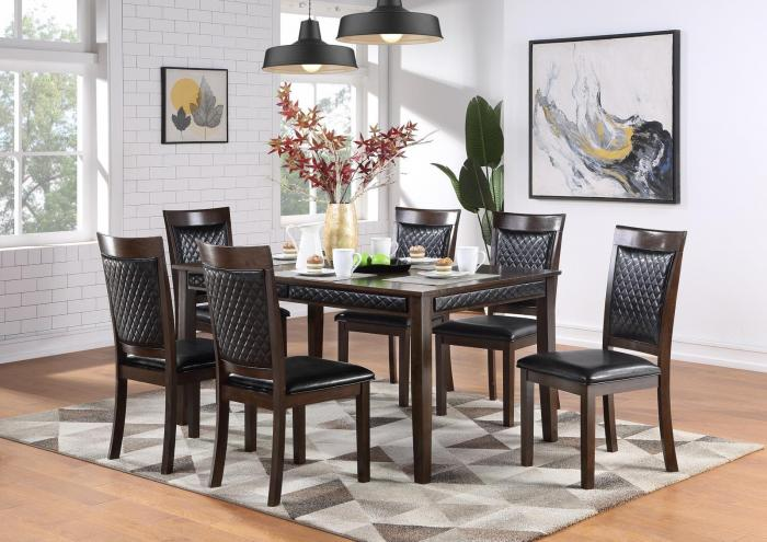 D247 Dining Table And 6 Chairs,Harlem In-Store