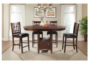 Image for Max storage dining table and 4 stools