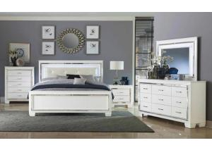 Queen Bed, Dresser, Mirror, Chest & Nightstand