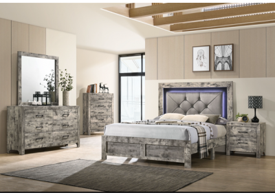 Image for 8343 Queen Bed, Dresser, Mirror, Chest And Night Stand