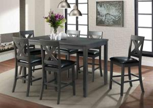 Image for Alex Table and 6 stools