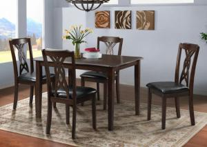 Image for Amanda Dining Table & 4 Side Chairs