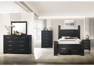 Image for B4100 Queen Storage Bed, Dresser, Mirror, Chest And Night Stand