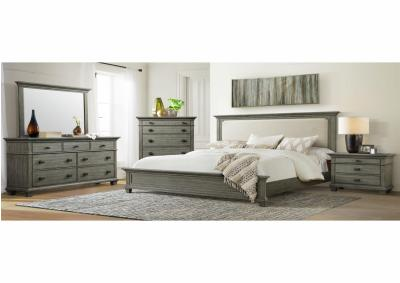 Image for CW300 Queen Bed, Dresser, Mirror, Chest And Night Stand