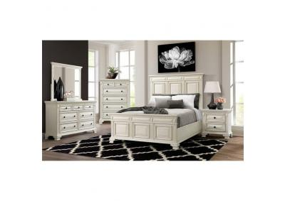 CY700 Queen Bed, Dresser, Mirror, Chest And Night Stand