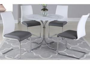 Image for Dorothy w/Jane SC2 tone Dining Table w/4 Side Chairs