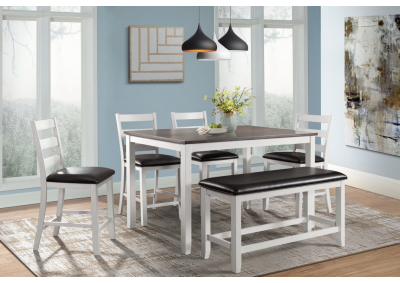 Image for Martin Table 4 Chairs And Bench