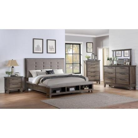Samara Queen Bed,Huffman Koos