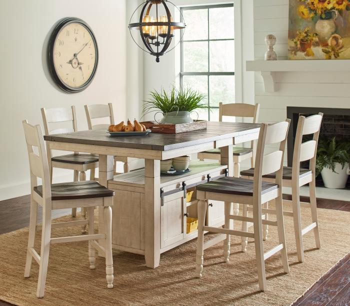 Scarsdale 7PC Dining Pkg,Huffman Koos