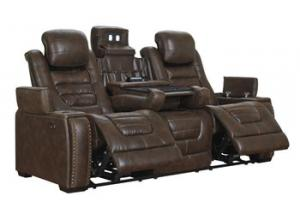 Image for Cresent Power Sofa with Power Headrest