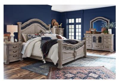 Image for Marlow 4PC Queen Bedroom Pkg Fawn