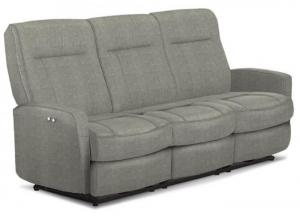 Image for Roby II Pwr Recliner Sofa Smoke