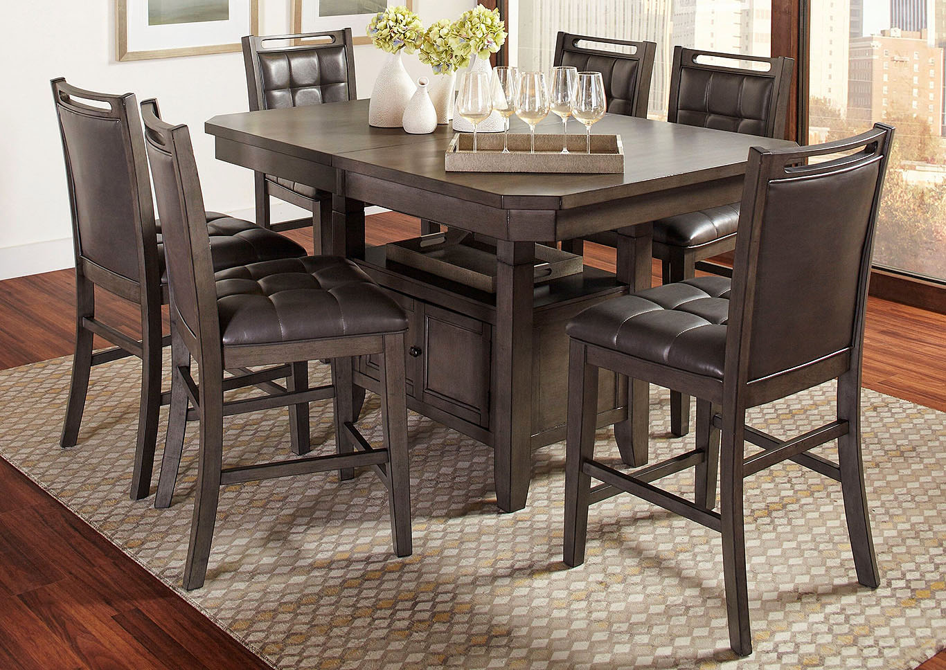 Image for Boston 5Pc Counter Dinette