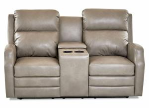 Image for Audrina Power Motion Console Loveseat