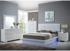 Image for Nicole 4PC QN Bedroom Pkg