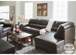 Image for Stefano Brown 2Pc Sectional Raf Sofa
